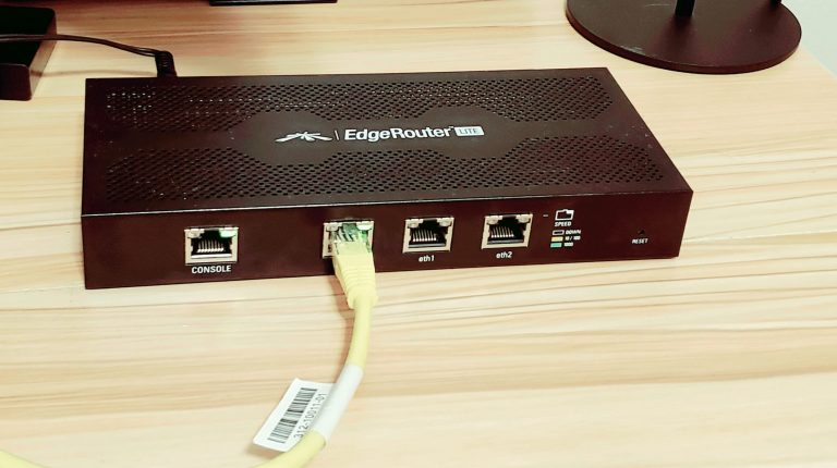 Upgrading Firmware on a Ubiquiti Edgerouter Lite with SSH
