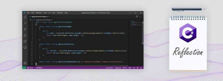 C# Reflection: Application Name & Version