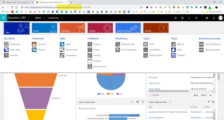 Forcing Classic in Dynamics 365