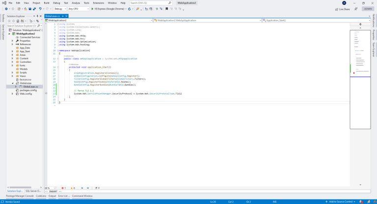 Force TLS in .NET