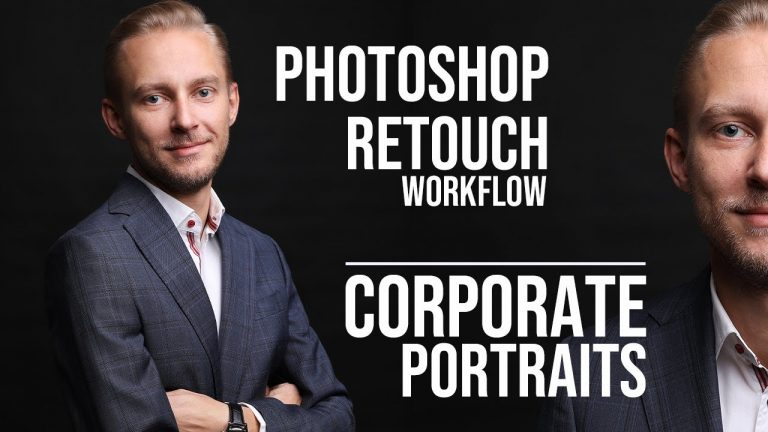 How to Retouch Corporate Portraits