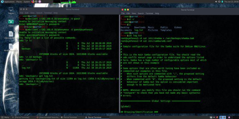 Enumerating Samba/SMB Servers