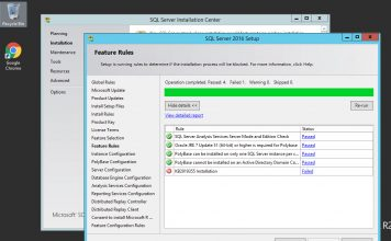 Windows Server 2012 RS KB2919355 During SQL Server Installation
